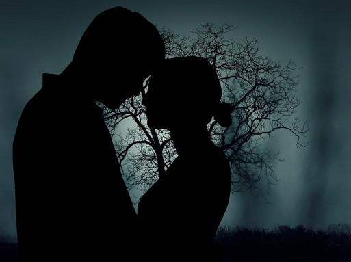 Szerelmespár sziluettje, Kép: pixabay