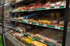 címke, meleg, mélyhűtött termék, nagyító, nyár, romlott étel