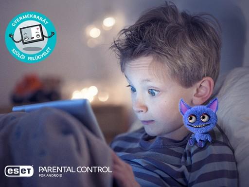 Gyerek éjszaka a tablet előtt, Kép: sajtóanyag
