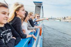 család, duna, hajóút, kirándulás, nyári program