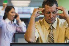 halláskárosodás, iroda, munkahelyi ártalom, népbetegség, stressz, zaj