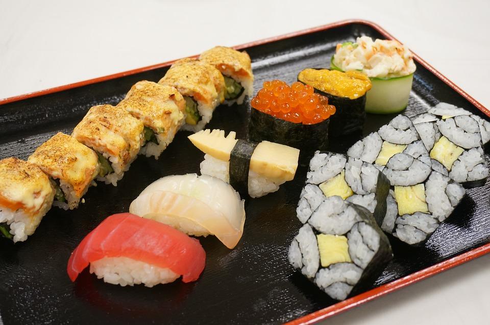 Japán ételek, Kép: pixabay