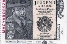 bélyeg, Magyar Posta, nagyjeszeni Jeszenszky János, négyes bélyegkiadás, orvos, tudós