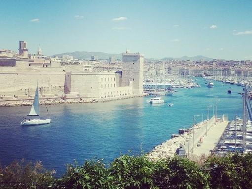 Marseille látképe, Foto: BlaBlaCar