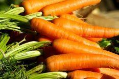 alufólia, gasztronómia, grill, köret, sárgarépa, vega