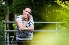 gyerekvállalás, Péter Szabó Szilvia, szűrés, terhesség, teszt, várandósság