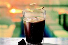 alkoholmentes, alkoholos ital, gyömbér, jég, kávég, koktél, recept