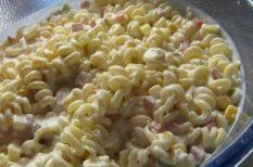 majonéz, saláta, tejföl, tészta