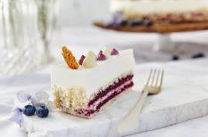 Áfonya hercegnő tortája, cukormentes, diabetikus, Egy Csepp Figyelem, lisztmentes