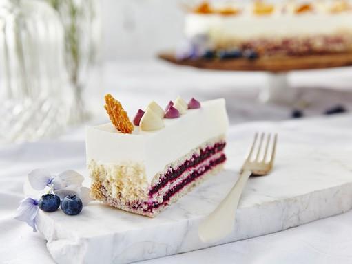 Áfonya hercegnő tortája, Kép: sajtóanyag