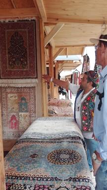 Üzbég szőnyegek, Kép: Németh Andrea