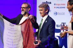 díjátadás, étterem, kávé, Lavazza, Massimo Bottura, Michelin-csillag, New York