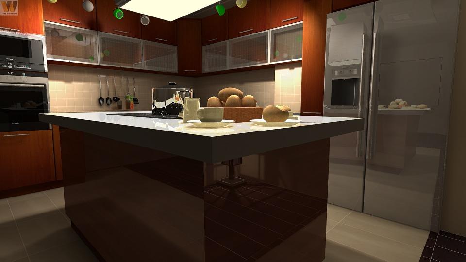 Modern konyha, Kép: pixabay