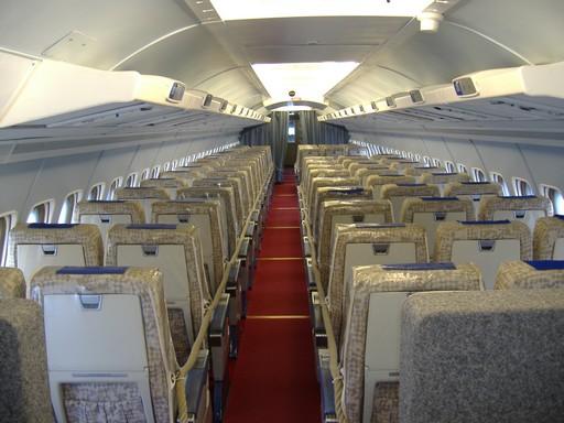 Repülőgép belső, Kép: wikimedia