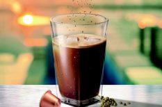 ital, jég, kávé, koriander, recept