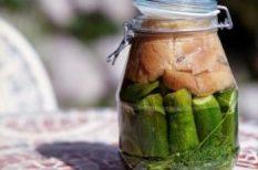 kovászos uborka, saláta, savanyúság, uborka, zöldség
