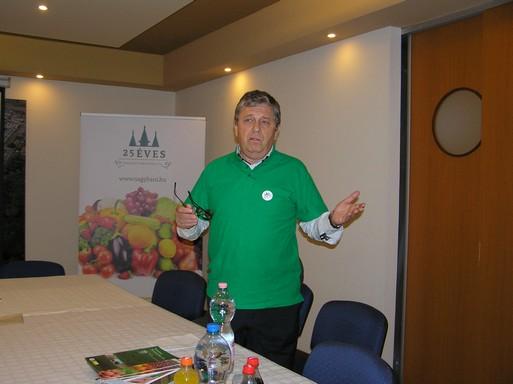 Házi Zoltán, a Budapesti Nagybani Piac vezérigazgatója, Kép: László Márta