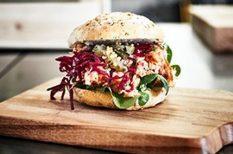 lazac, lila káposzta, saláta, svéd recept, szendvics