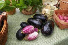 hagyma, Kréta, mediterrán, padlizsán, recept