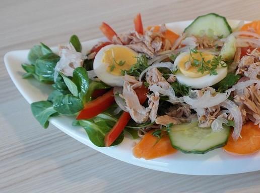 Tonhalas saláta, Kép: pixabay