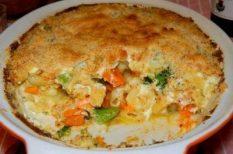 brokkoli, makaróni, sajt, sütőtök, tészta