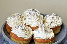 citrom, cupcake, édesség, muffin