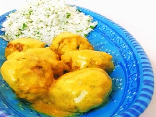 Currys húsgombóc, Kép: ahogyeszikugypuffad.blogspot.com