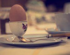 egészség, emésztőrendszer, reggeli, tojás