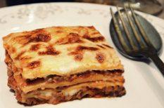 besamel, bolognai, lasagne, marhahús, olaszos