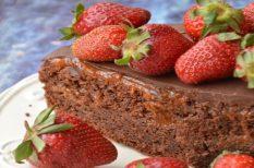 csokoládé, dió, klasszikus, különleges, osztrák, Sacher