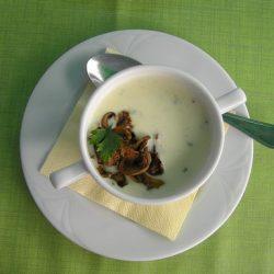 burgonya, krumplistészta, leves, mixer, sajt