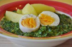 egészséges, főzelék, spenót, zöld