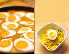 egzotikus, indiai, tojás
