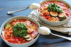 gyors, gyorsan, olasz, olaszos, zöldségleves