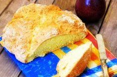 gyorsan, ír szódás, kenyér, sütőporos