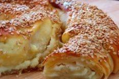 feta sajt, kelt, szezámmag