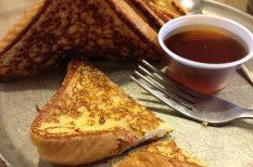 bundás kenyér, édes, reggeli, töltött