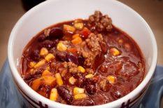 darált hús, marhahús, mexikói, vörösbab