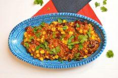 chili, egészséges, quinoa