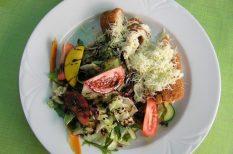 borjú, francia konyha, Napkirály, sajt, sonka