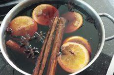 aszalt gyümölcs, bor, forralt bor, narancs, vörösbor