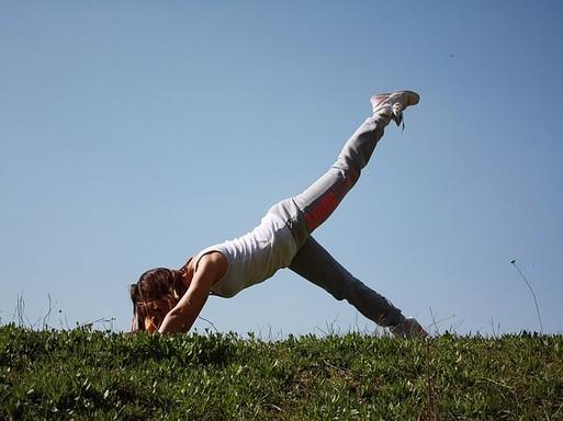Jóga a szabadban, Kép: pixabay
