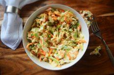 egészséges, gyors, káposzta, saláta