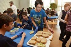 egészség, elhízás, gyerek, kampány, rekord, szendvics, tízórai