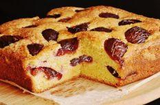 édesség, gyümölcsös, kevert tészta, pite, sütemény, szilvás