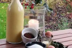 húsvét, karácsony, likőr, tojás, ünnepi ital