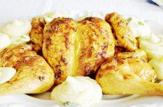 csirke, csirkesült, lapított csirke, vasárnap, vasárnapi ebéd