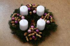 advent, belső hang, gyertya, karácsony, lélek, ünnep, várakozás