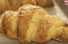 croissant, otthon sütök, videó