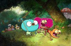 animáció, gyerekműsor, madarak, Nickleodeon, sorozat, tévé